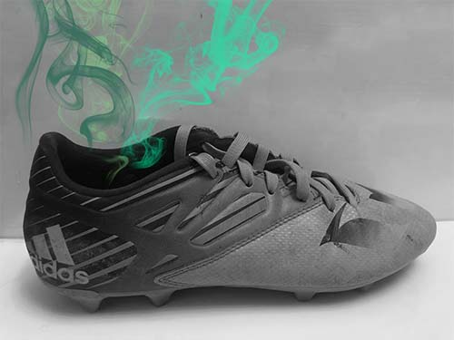 Smelly And Dirty Adidas Soccer Cleats