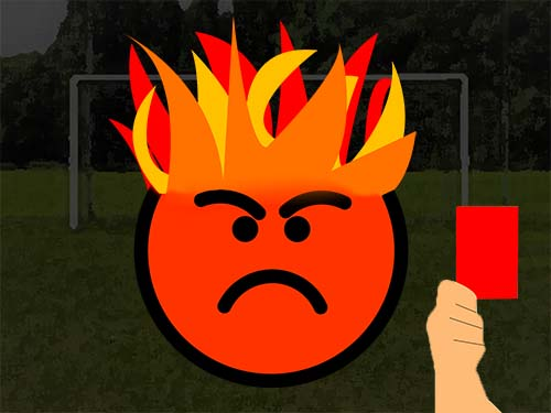 Dealing With Fiery Soccer Players